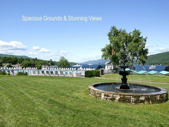 Fort William Henry Hotel and Conference Center: Back Lawn