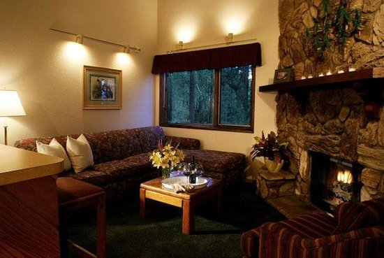 Snow Lake Lodge: Living Room