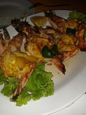 Islandish Seafood Restaurant: Креветки барбекю