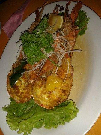 Islandish Seafood Restaurant: Lobster bbq  лобстер барбекю