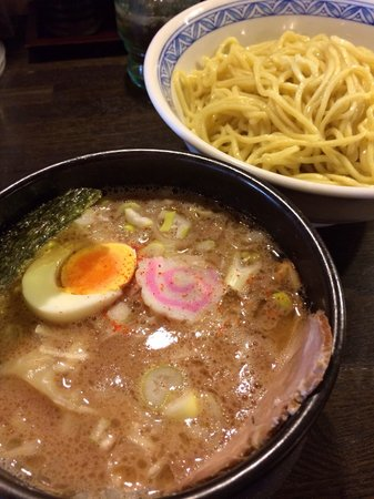 Fukuya Oitaekimae : 野菜つけ麺 大盛り