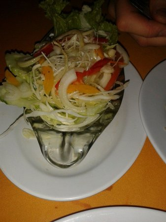 Islandish Seafood Restaurant: Mix salad