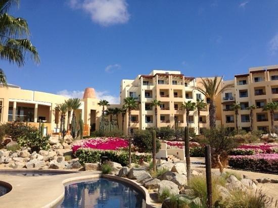 Pueblo Bonito Pacifica Golf & Spa Resort : Puebo Bonito Pacifica view from inside the resort.