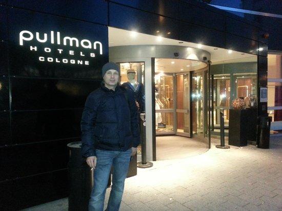 Pullman Köln: вход