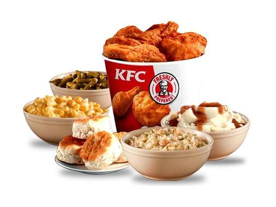 Food Items - Picture of Kfc, Chicago - TripAdvisor