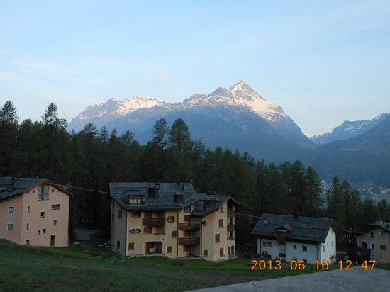 Nira Alpina: ベランダからこの様な景色が見えます!