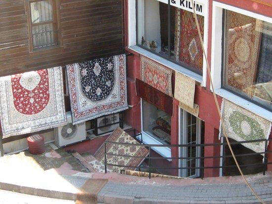 Hotel Djem: Le marchand de tapis