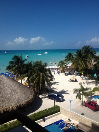 Ixchel Beach Hotel: Beautiful view!