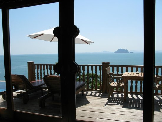 Santhiya Koh Yao Yai Resort & Spa: Balcony