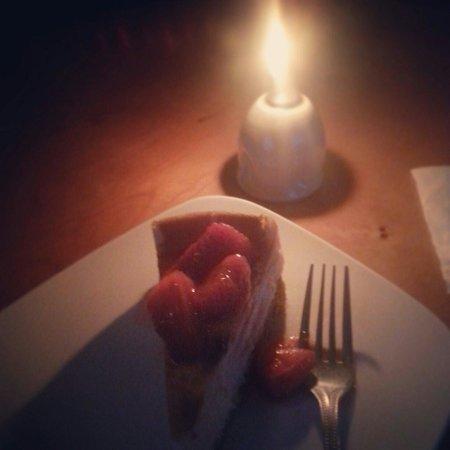 Bee's Knees: Marscapone cheesecake