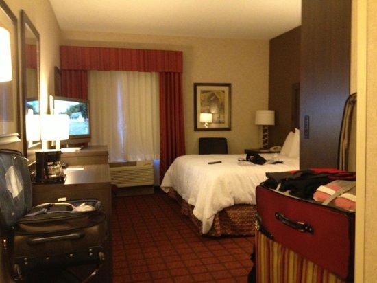 Hampton Inn Durango: accessible room