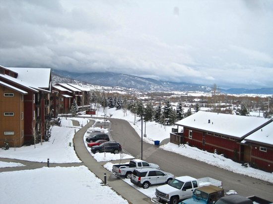 The Village at Steamboat Springs: View from lounge window