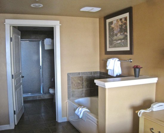 The Village at Steamboat Springs: ensuite with spa bath in bedroom
