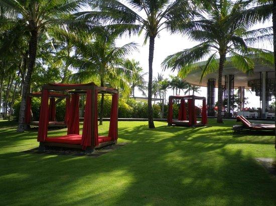 Club Med Bali: jardin piscine