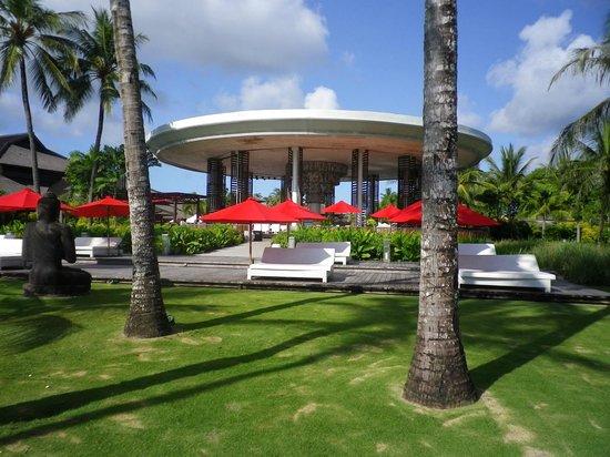 Club Med Bali: Vue du bar extèrieur