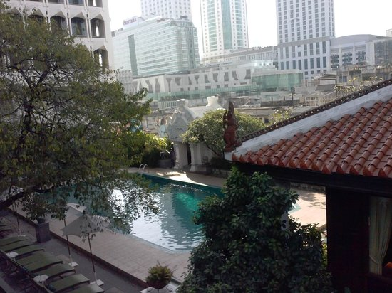 Indra Regent Hotel : View from the Breakfast area