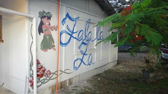 Falala Fa: weird spot to name the business