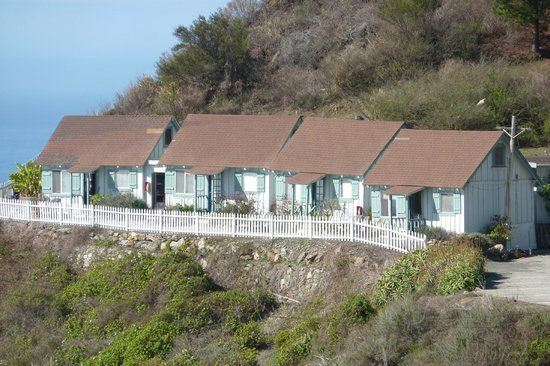 Lucia Lodge: Rooms 7-10 have ocean views
