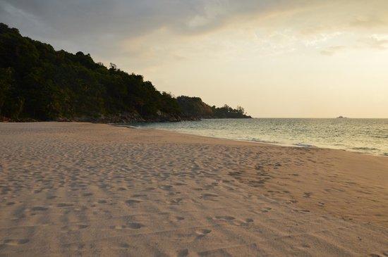 Andaman White Beach Resort: Plage parfaite