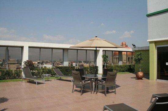 Hotel Casa Blanca Mexico City: Terrace