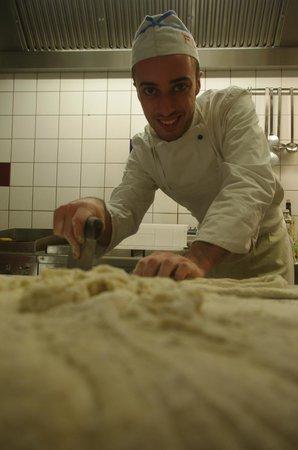 Nestelbach im Ilztal, Österreich: Gnocchi fatti in casa - Gnocchi Hasgemacht
