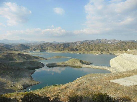 Kalavasos, Cipro: водохранилище