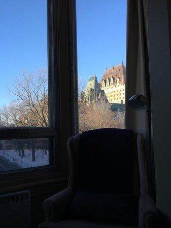 Chateau Fleur de Lys - L'HOTEL : vue frontenac 2