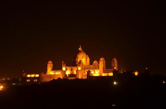 Hanwant Mahal : view of Umaid bhawan