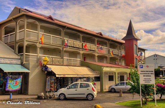 Hôtel La Pagerie : Entrée de l'hôtel