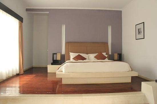 The Seminyak Suite Private Villa : the main bedroom