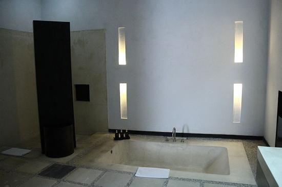 The Seminyak Suite Private Villa : the bathroom