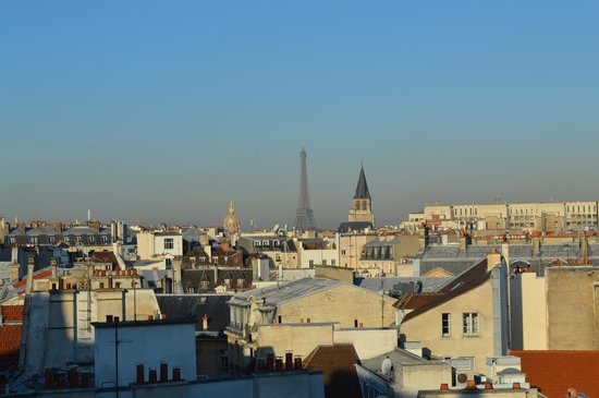 Holiday Inn Paris - Notre Dame : View from room 708
