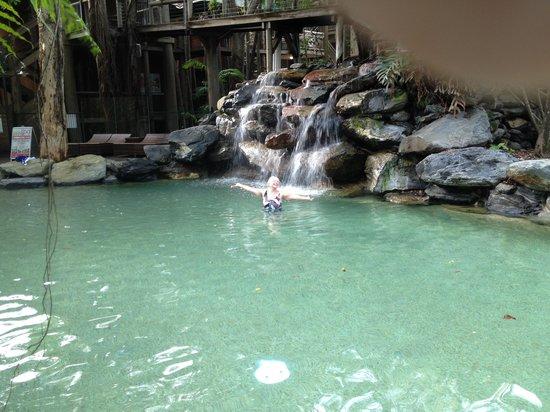 Ramada Resort Port Douglas: pre~breakfast dip in the pool