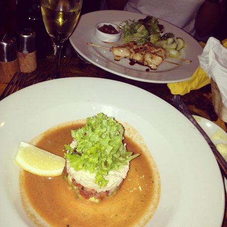 Little Bay Restaurant: Starters