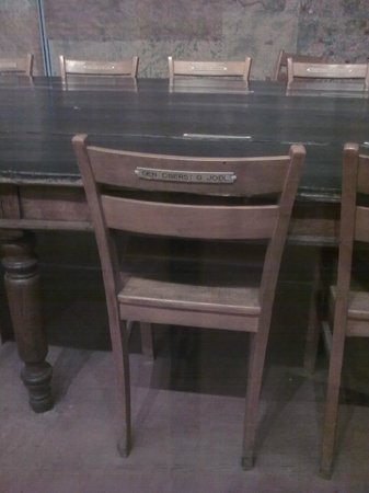 Museum of the Surrender: Historic table where the surrender was signed