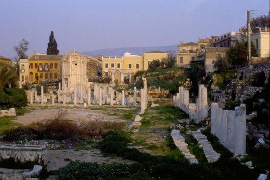 Roman Agora: con la torre