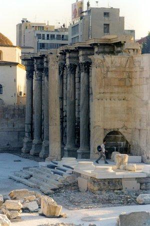 Roman Agora: biblioteca adriano