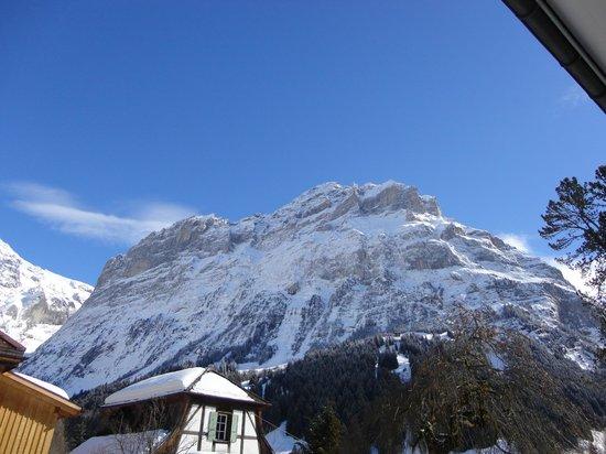 Hotel Gletschergarten: Grandiose Bergsicht!
