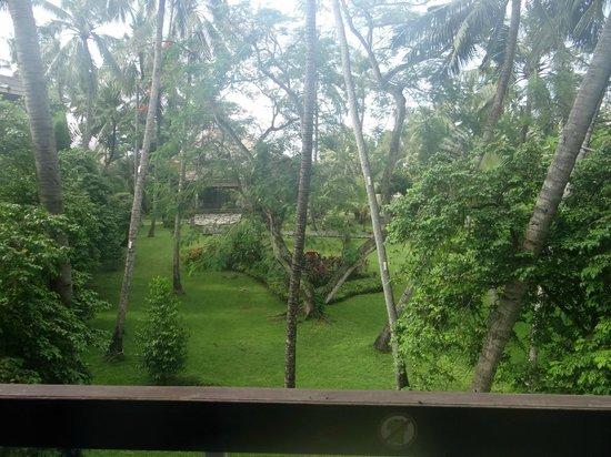 Prama Sanur Beach Bali: view from bedroom window