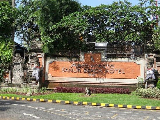 Prama Sanur Beach Bali : main entrance
