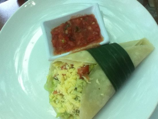"Seaside Restaurant Legian: ""Soft Taco"" & Salsa"