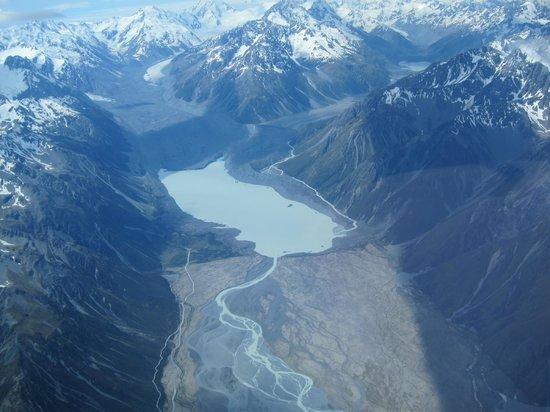 Glide Omarama : Gletsjermeer