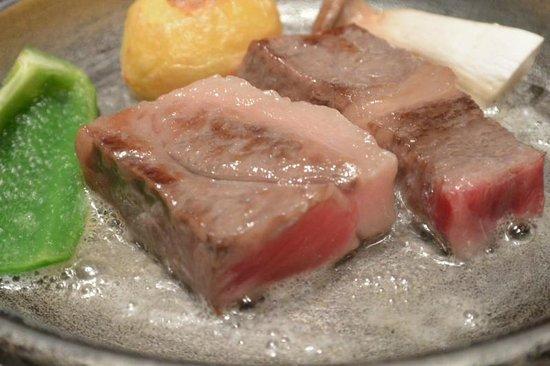 Shiraishiya: ステーキ会席