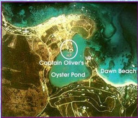 Captain Oliver's Hotel: Map