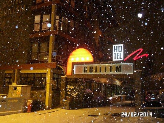Guillem Hotel: Зима пришла в Энкамп