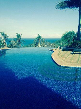 Hotel Soffia Boracay: Infinity pool