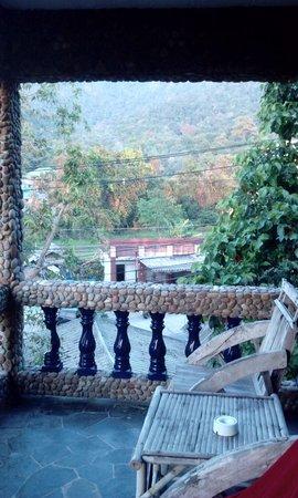 Plaloma Cliff Resort: балкончик