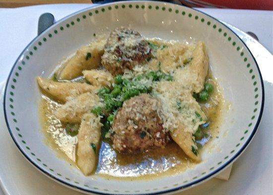 Bella Vedere Cucina: Gnocchi with spicy meatballs