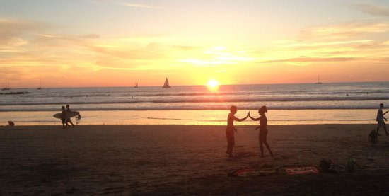 Witch's Rock Surf Camp: Best sunsets ever