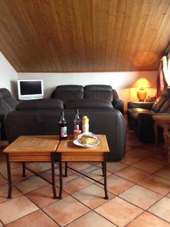 Chalet Vallon : The lounge & afternoon cake